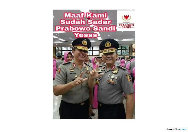 Gara-gara Foto 2 Jari, IPW Minta Pelantikan Kapolda Banten Dibatalkan