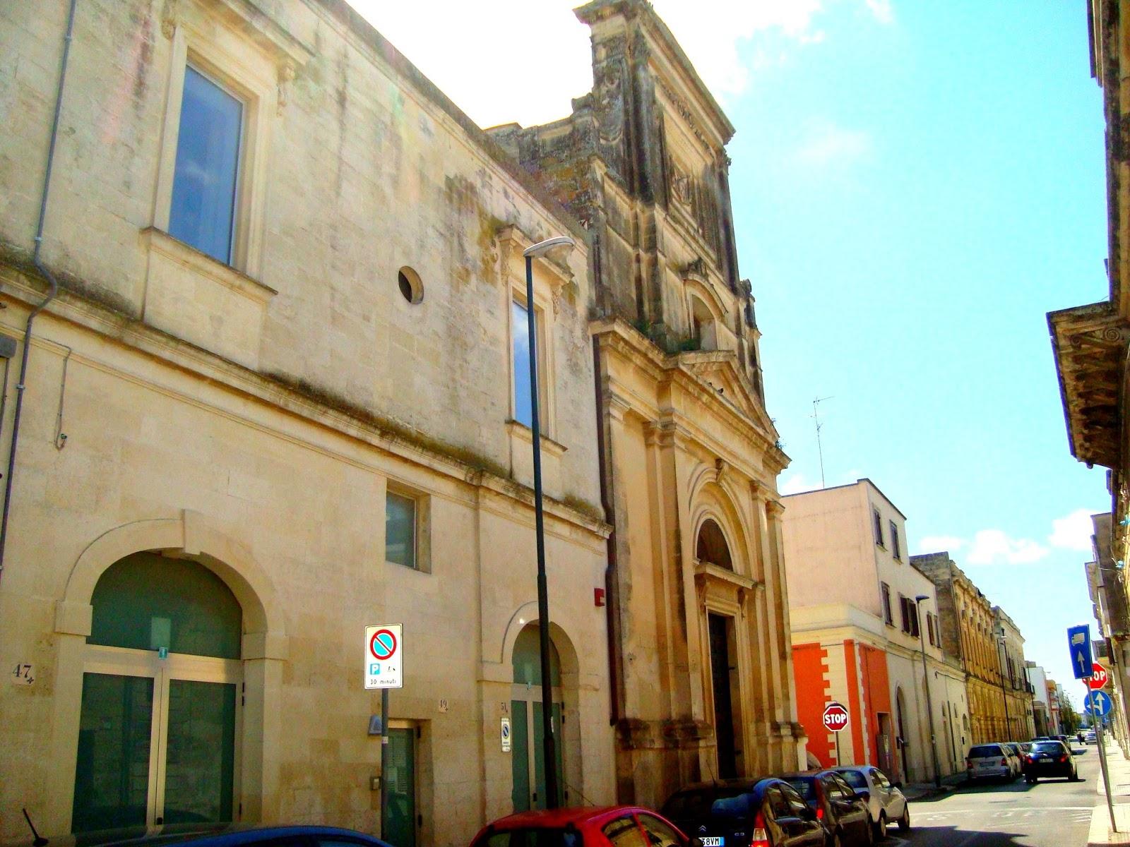 Chiesa dell 39 addolorata a san cesario di lecce for Albanese arredamenti san cesario lecce