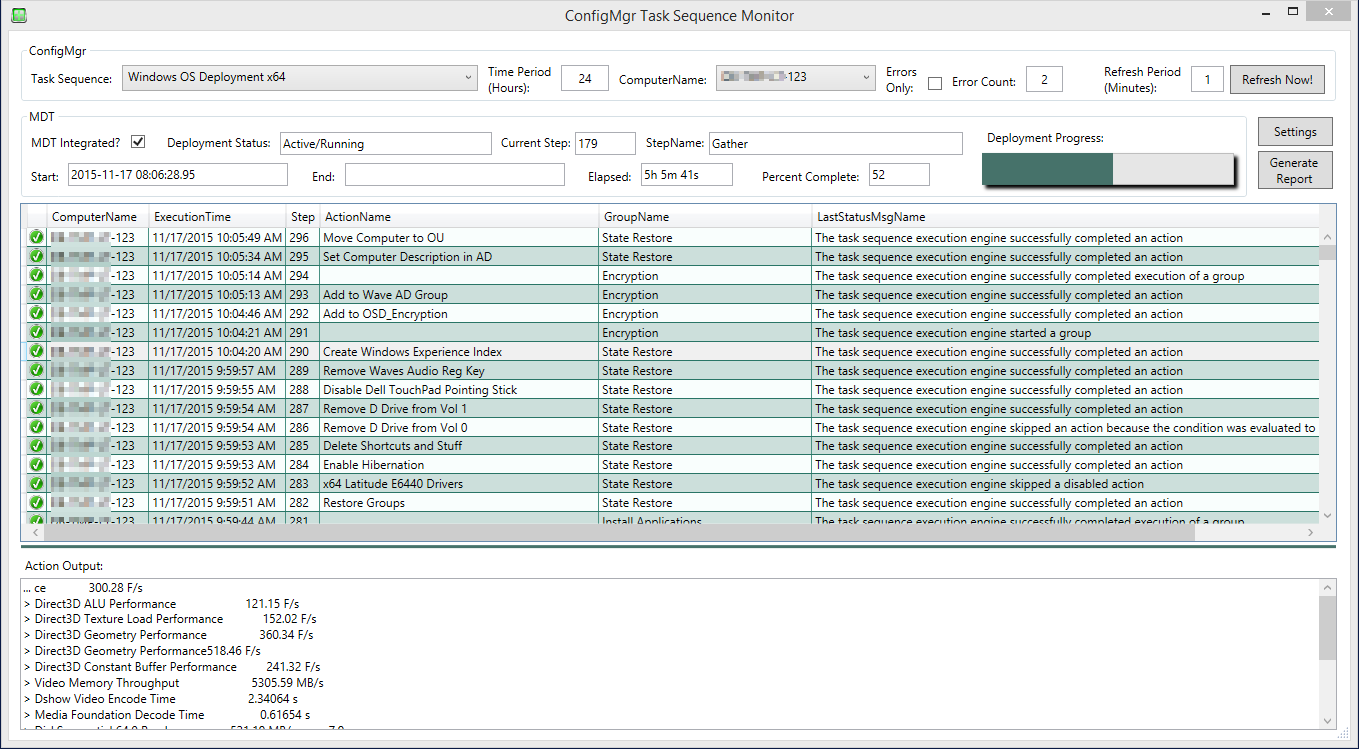 WPF tool: ConfigMgr Task Sequence Monitor - PowerShell-WPF