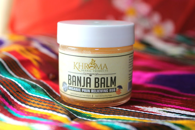 Khroma Banja Balm Organic Pain Relieving Rub Review.   Khroma Herbal Products. Natural Pain Relief. Natural muscle pain relief. icy hot alternative. Natural alternative to icy hot. substitute for bengay, products like icy hot,  sports creams for sore muscles, essential oil icy hot, natural icy hot alternative, cayenne pepper rub for sore muscles, warming muscle rub, essential oil blend for sore muscles.