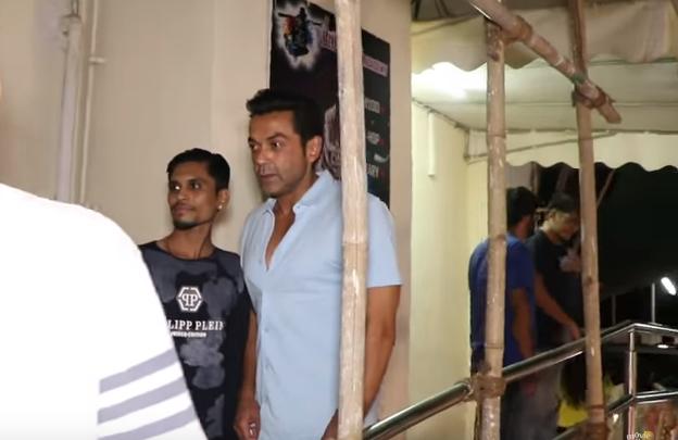 Salman Khan's RACE 3 CO-STAR Bobby Deol Spotted At PVR Cinema Juhu