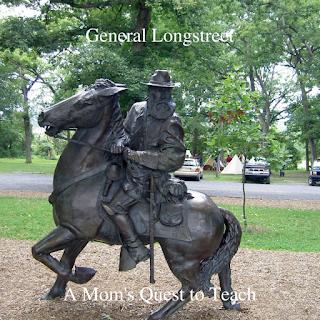 Statue of Longstreet at Gettysburg