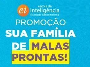 Escola Inteligência - Cadastrar Promoção Sua Família de Malas Prontas