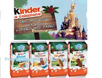 Logo Kinder ''Vinci il sogno'' : in palio 10 viaggi a Disneyland Paris per 4 persone e un premio certo per tutti!