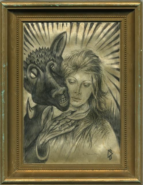 Gwen Tomahawk Beauty and the beast Anticones Détournement d'icônes religieuses