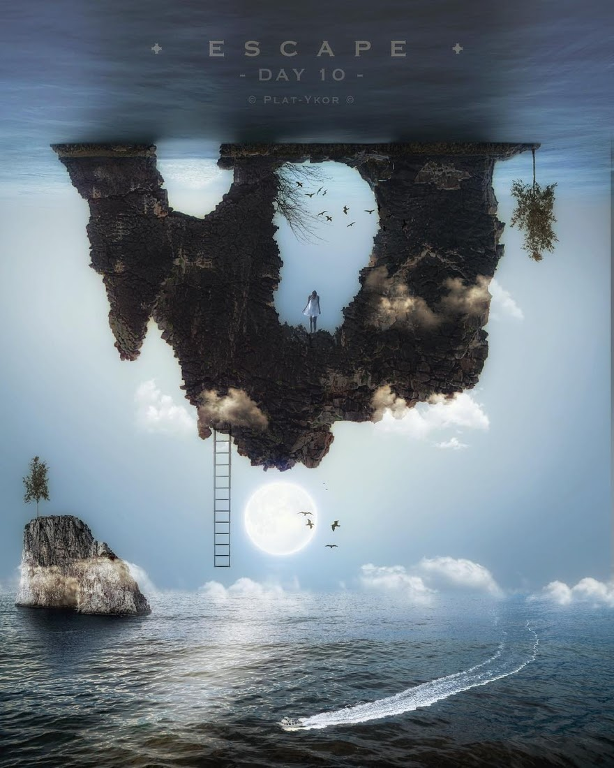 01-Escape-Plat-Ykor-Surreal-and-Fantasy-Photo-Manipulations-www-designstack-co