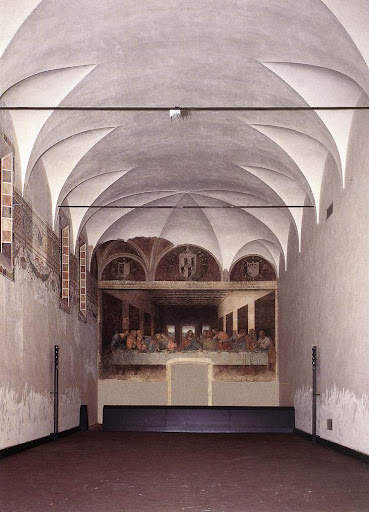 Danh họa Leonardo Da Vinci và Bích họa Bữa Tiệc Ly