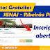 Cursos gratuitos no SENAI Ribeirão Preto
