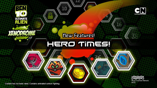 """It's Hero Time!"" Ben must battle against foes, collect all new alien DNA and increase his alien powers. Now it is your turn to take down the Forever Knights, Charmcaster, and even some secret Ultimate Foes. Ben's journey will take you to the ends of the galaxy and give you a chance to discover all-new alien forms. Use Ben to battle evil and you will increase his alien powers and unlock hidden potentials you never dreamed of!"