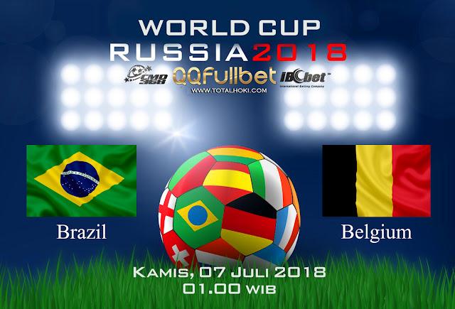 BOLA88 - PREDIKSI 8 BESAR PIALA DUNIA: BRAZIL VS BELGIA 07 JULI 2018 ( RUSSIA WORLD CUP 2018 )