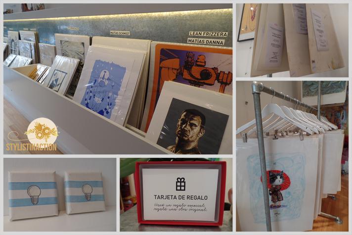 Arte democratico. El arte se acerca a la gente común. Tienda de arte para regalar y regalarte. Conocé Punto Kiwi by Leila Montero y Sara Stewart Brown