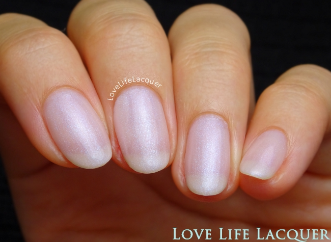 Pink Gellac Classic Pearl Swatch Uncovered1