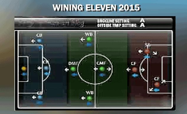 formasi terbaik winning eleven