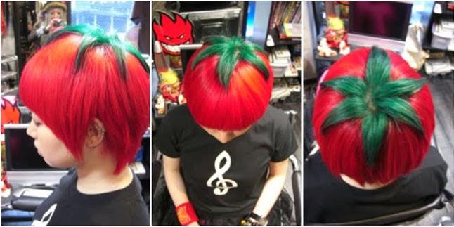 Trend gaya rambut Jepang yang disebut  rambut tomat  ini sebenarnya  potongan rambutnya biasa saja a236ce9a6c