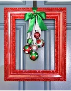 como decorar puerta navideña, ideas para puerta navideña, adornos navideños para puerta