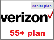 Verizon 55 plus plan for Seniors