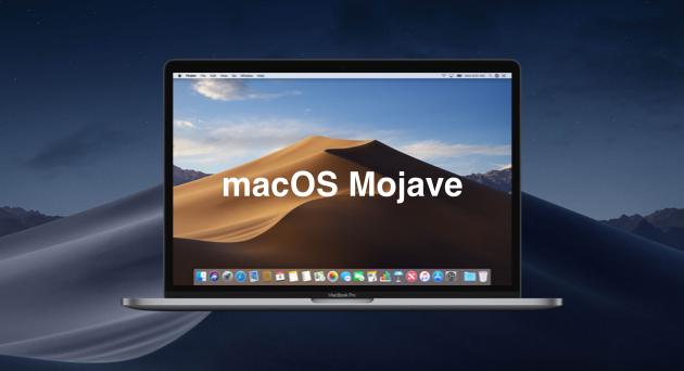 تحميل macOS Mojave 10.14.1