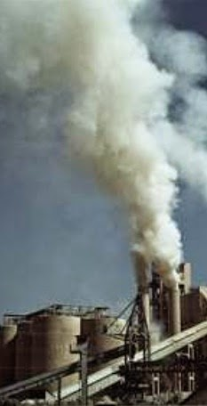 Emission form cement factory