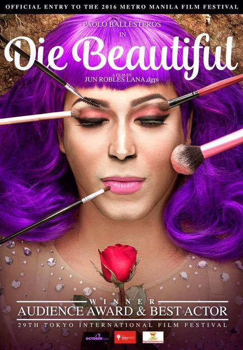 DIE BEAUTIFUL is among the top grossing films at the 2016 MMFF.