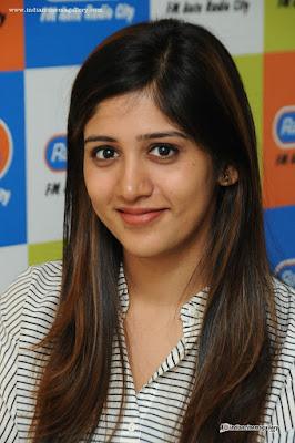 Chandini Choudary straight hairstyle