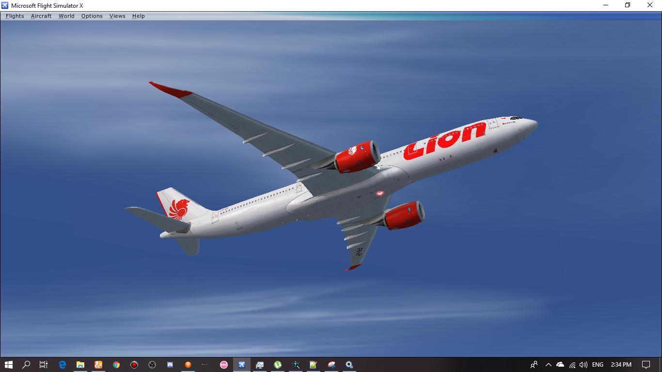 FSPXAI A330-900 Lion Air PK-LEI [Texture Only] ~ Wahdhan Hadi
