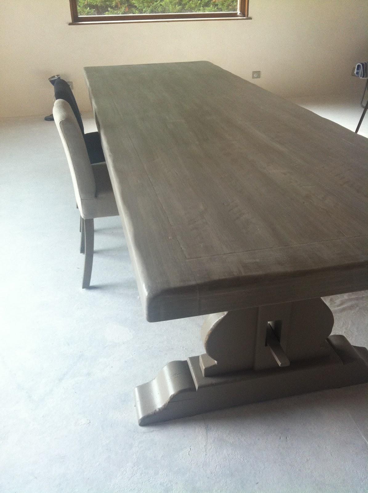 l 39 atelier des f es relooking table de ferme buxy table. Black Bedroom Furniture Sets. Home Design Ideas