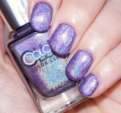 Color Club - Eternal Beauty Nails, lila, purple, Holo-Lack, Hologramm, Nagellack