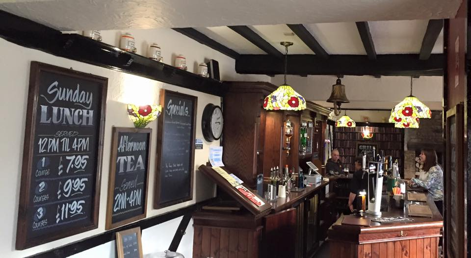 The Cross Keys Pub, Hamsterley - interior