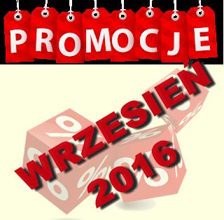 PROMOCJE WRZESIEŃ 2016 - NATURATIV, TOŁPA, DOUGLAS i inne :)