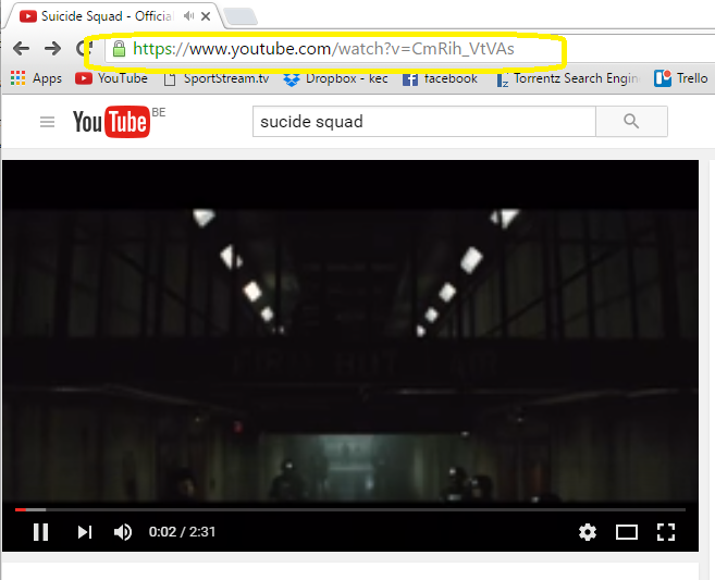 Easiest way to download youtube video interesting and useful 2 now add ss without quotation after the www and before youtube in the address bar and hit enter button ccuart Gallery