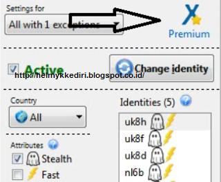 Trik Aktivasi Anonymox Free Menjadi Premium