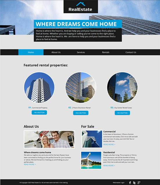 Top 18 Template Blogspot Bất động sản chuyên nghiệp miễn phí