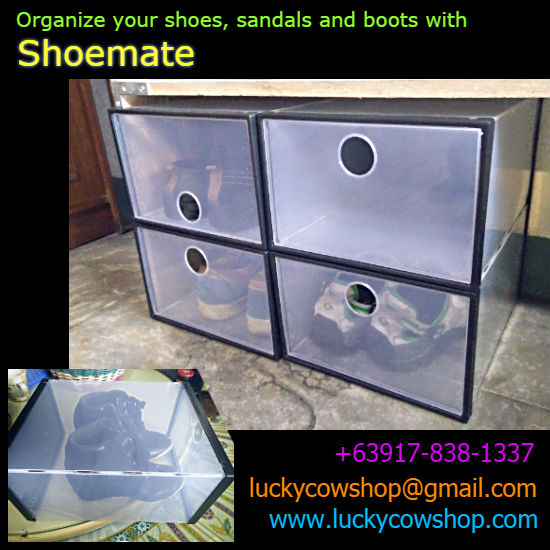 shoemate shoe box organizer