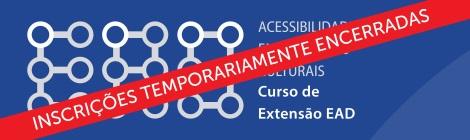 Curso de Acessibiolidade em Ambientes Culturais - logotipo do curso