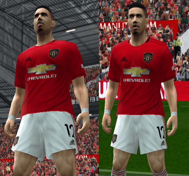 best sneakers 64448 35e49 PES 6 Manchester United 2019-20 Home Kit Leaked