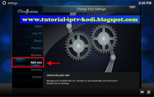 The ways for install pirata tv addon kodi