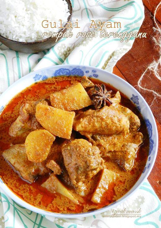 Cara Membuat Gulai Ayam : membuat, gulai, GULAI, REMPAH, TERENGGANU, Singgahsana, Kitchen