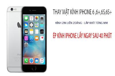 Địa chỉ thay mặt kính iPhone 6s plus chính hãng tại Hà Nội