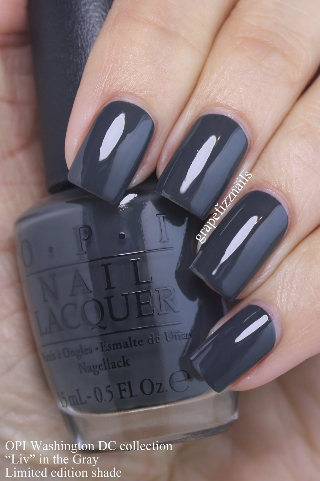 liv quot in the gray is an edgy deep gray cream perfect formula you ll