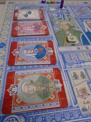 Lisboa Boardgame Noble and Treasury Cards