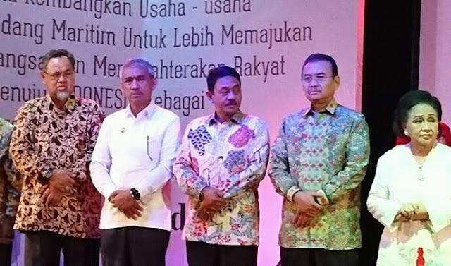 Husler Perkenalkan Potensi Luwu Timur Pada Deklarasi BKU Maritim