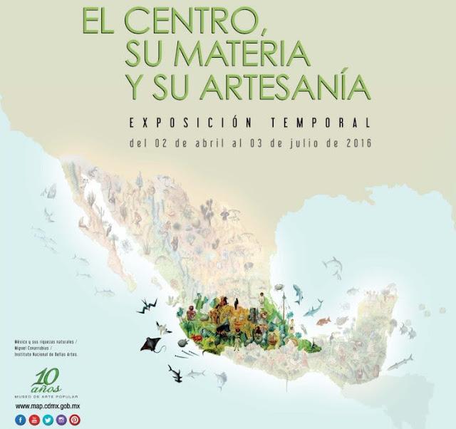 """Inauguración de """"El Centro, su materia y su artesanía"""" en el Museo de Arte Popular"""