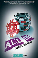 All In by Jennifer Lynn Barnes book cover and review