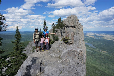 Mount Yamnuska Upper Viewpoint