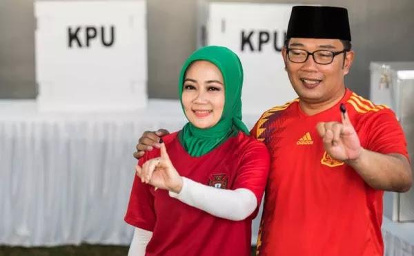 Quick Count Final Pilgub Jabar, Ridwan Kamil - Uu Ruzhanul Ulum Menang, Gerindra, PKS, dan PAN Melongo.....
