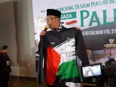 Jawa Barat Luncurkan Pembangunan Masjid di Gaza Senilai RP 20 M