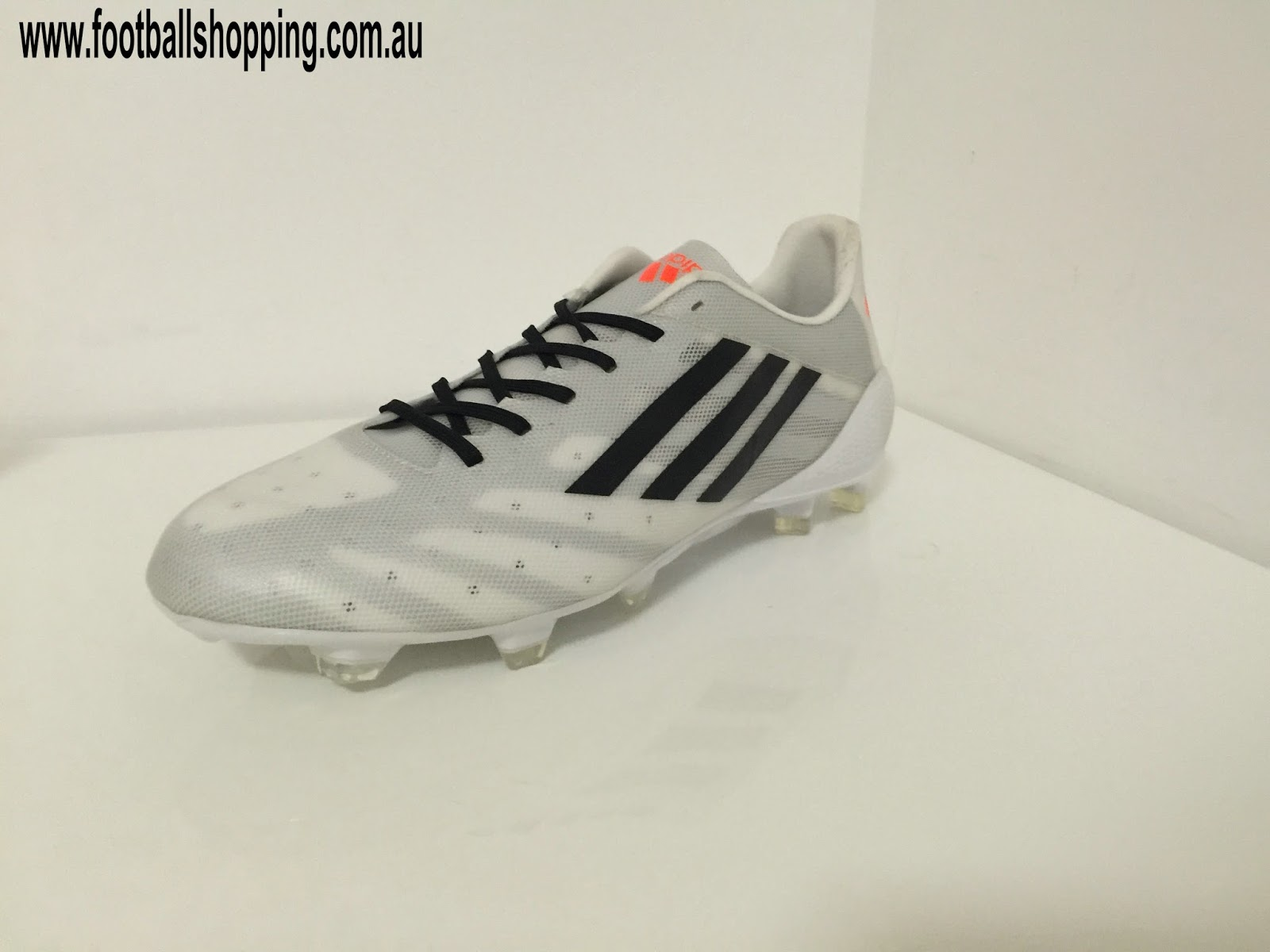 huge discount 63707 dd089 Adidas Adizero 99g Prototype Soccer Cleats White Solar Black