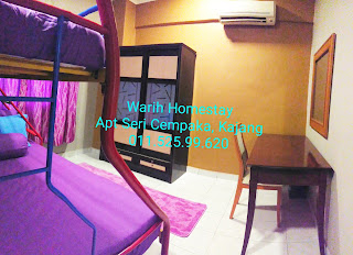 Warih-Homestay-Sri-Cempaka-Kajang-Master-Bedroom-2