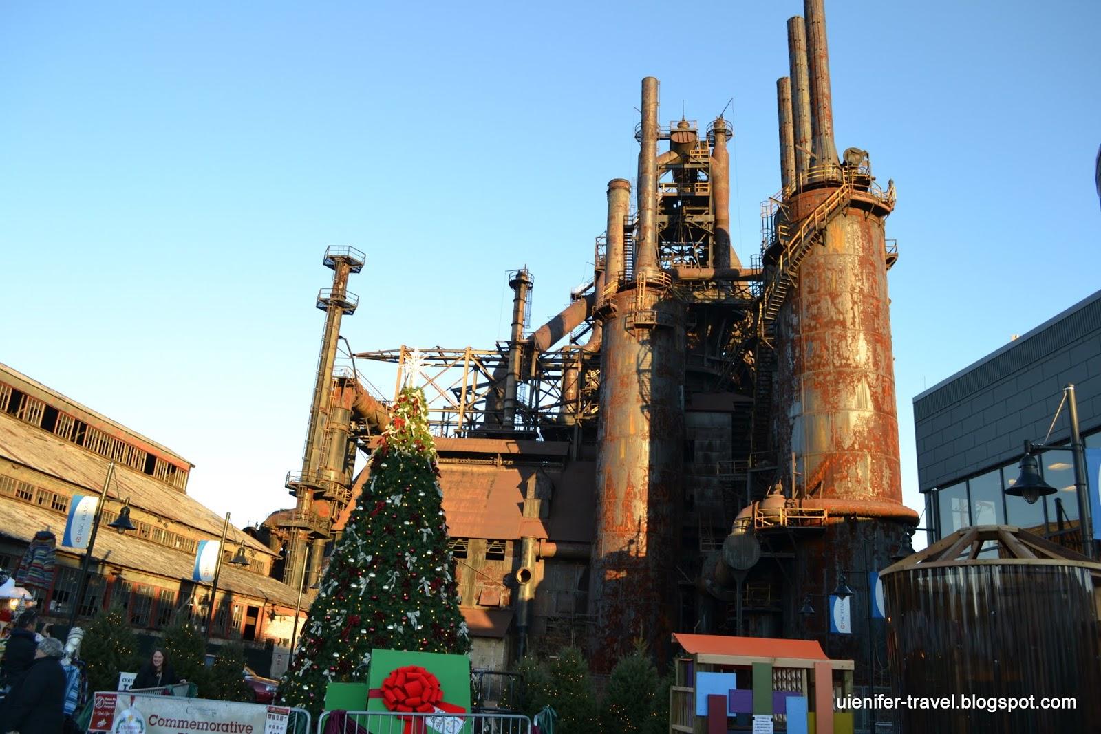 Завод Бетлехем Стил, Бетлехем, Пенсильвания (Bethlehem Steel, Bethlehem, Pennsylvania)