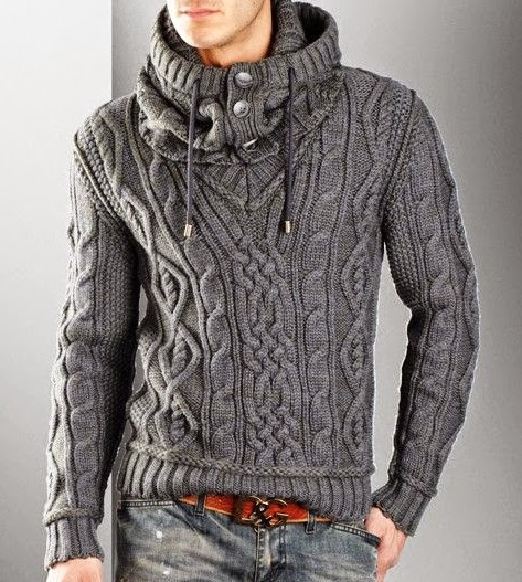 knit sweater for men